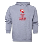 FC Santa Claus Milk and Cookies Men's Hoody (Ash)