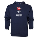 FC Santa Claus Milk and Cookies Men's Hoody (Navy)