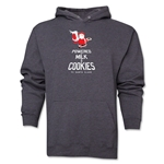FC Santa Claus Milk and Cookies Men's Hoody (Dark Grey)