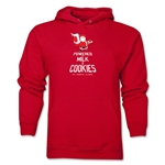FC Santa Claus Milk and Cookies Men's Hoody (Red)