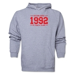 FC Santa Claus Established 1992 Men's Hoody (Ash)