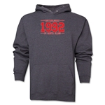 FC Santa Claus Established 1992 Men's Hoody (Dark Grey)