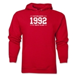 FC Santa Claus Established 1992 Men's Hoody (Red)