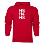 FC Santa Claus Ho, Ho, Ho Men's Hoody (Red)