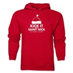 FC Santa Claus Kick with St. Nick Men's Hoody (Red)
