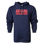 Hong Kong Soccer Supporter Hoody (Navy)