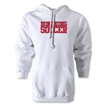 Hong Kong Soccer Supporter Hoody (White)