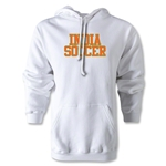 India Soccer Supporter Hoody (White)