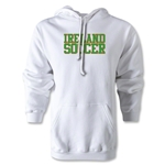 Ireland Soccer Supporter Hoody (White)