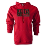 Kenya Soccer Supporter Hoody (Red)