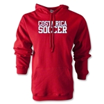 Costa Rica Soccer Supporter Hoody (Red)