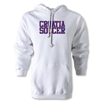 Croatia Soccer Supporter Hoody (White)