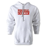 Portugal Soccer Supporter Hoody (White)