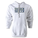 Sweden Soccer Supporter Hoody (White)