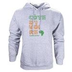 Cote d'Ivoire Country Hoody (Gray)
