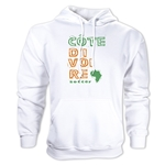 Cote d'Ivoire Country Hoody (White)