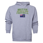 British Virgin Islands Football Hoody (Ash)