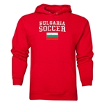 Bulgaria Soccer Hoody (Red)