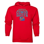 Congo DR Soccer Hoody (Red)