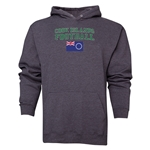 Cook Islands Football Hoody (Grey)