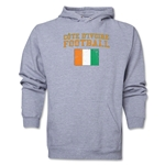 Cote d'Ivoire Football Hoody (Ash)