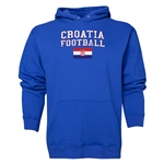 Croatia Football Hoody (Royal)