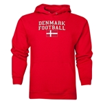 Denmark Football Hoody (Red)