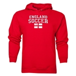 England Soccer Hoody (Red)