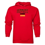 Germany Football Hoody (Red)