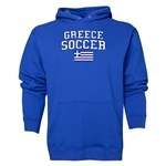 Greece Soccer Hoody (Royal)