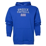 Greece Football Hoody (Royal)