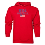 USA Football Hoody (Red)