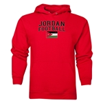 Jordan Football Hoody (Red)