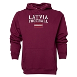 Latvia Football Hoody (Maroon)