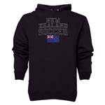 New Zealand Soccer Hoody (Black)