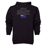 New Zealand Football Hoody (Black)