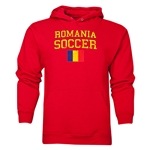 Romania Soccer Hoody (Red)
