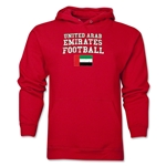 United Arab Emirates Football Hoody (Red)