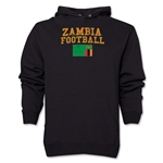 Zambia Football Hoody (Black)