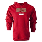 Indonesia Football Hoody (Red)