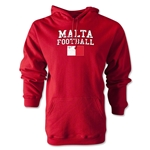 Malta Football Hoody (Red)