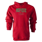 Morocco Football Hoody (Red)