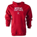 Nepal Football Hoody (Red)