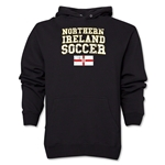 Northern Ireland Soccer Hoody (Black)
