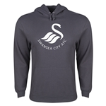 Swansea City Core Logo Hoody (Dark Gray)