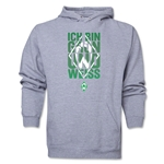Werder Bremen I Am Green and White Hoody (Ash Gray)