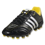 adidas 11Nova TRX AG miCoach compatible (Black/Running White/Vivid Yellow)