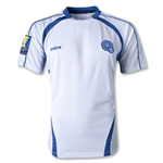 El Salvador 2015 Away Soccer Jersey w/ Gold Cup Patch