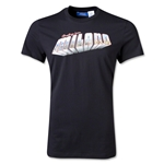 AC Milan Originals Greetings From Milano Postcard T-Shirt (Black)