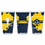 LA Galaxy MLS Cup 2014 Winner Pint Glass